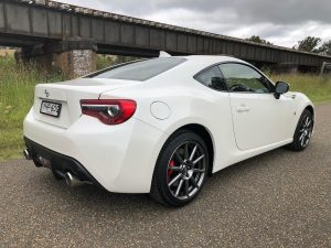 toyota 86 rear side 2018