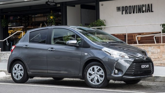 2017 toyota yaris hatch