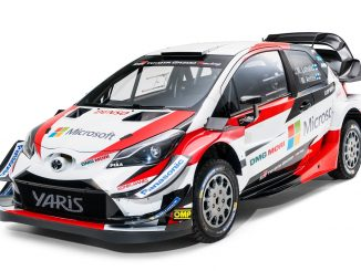 2018 toyota yaris wrc rally car