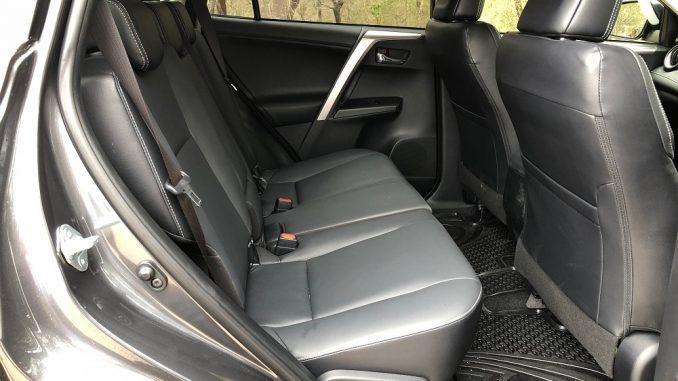 toyota rav4 rear seat 2018