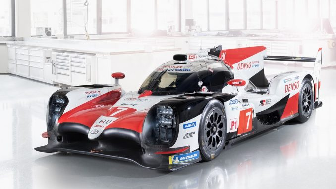 toyota hybrid race car