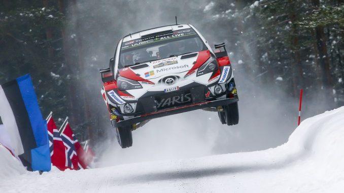 Rally sweden toyota yaris