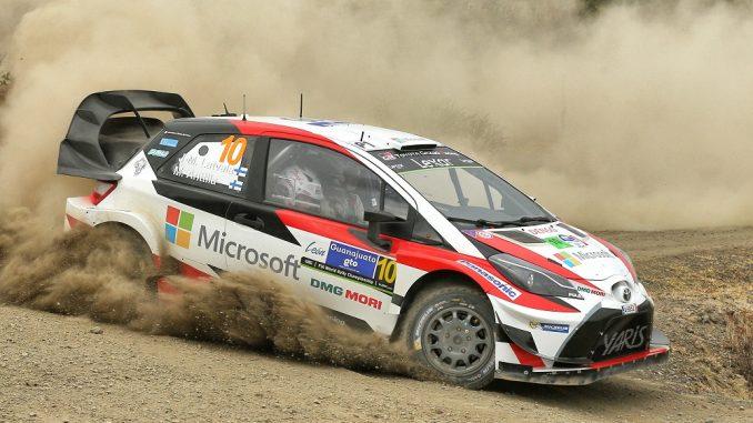 toyota rally car
