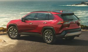 2019 toyota rav4 side and rear