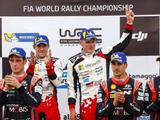 Toyota's Ott Tänak Rally Argentina 2