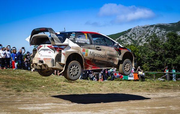 2018 Toyota WRC Sardinia 1