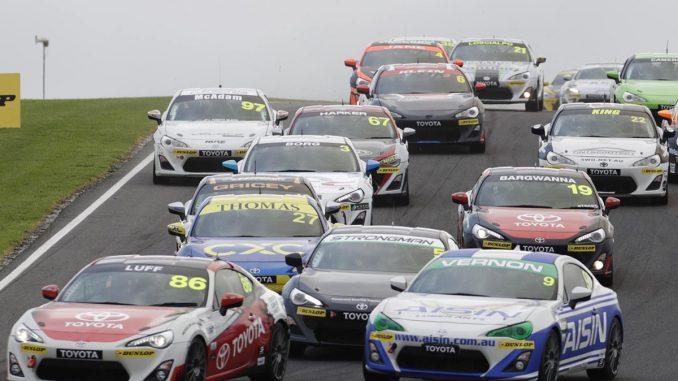 Toyota 86 series racing