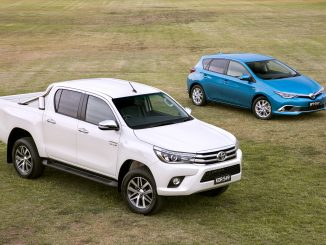 Toyota HiLux and Corolla