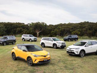 Toyota's SUV range