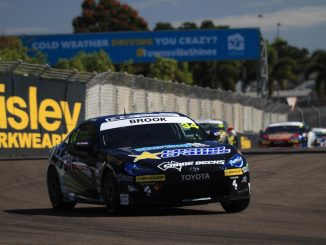Tim Brook took a clean sweep of all three races in Townsville