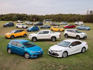 Toyota range 2017