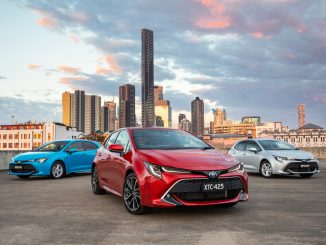 2018 Toyota Corolla ZR (front), SX (left), Ascent Sport