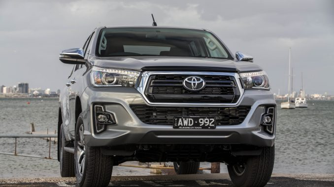 The bold new face of selected HiLux SR and SR5 models