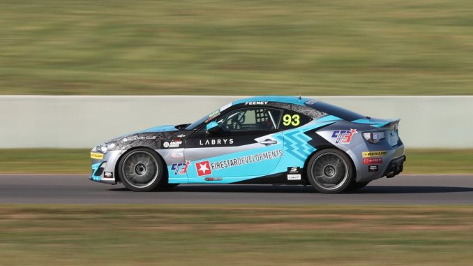 Queensland teenager Broc Feeney scored his first win and podium place in the 86 Racing Series at The Bend in SA