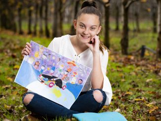 Budding WA artist Georgia Fields is off to Japan having won a place as one of just 30 World Winners in the 12th Toyota Dream Car Art Contest.