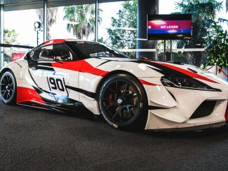 A90 GR Supra Concept at Toyota Australia's Corporate Headquarters